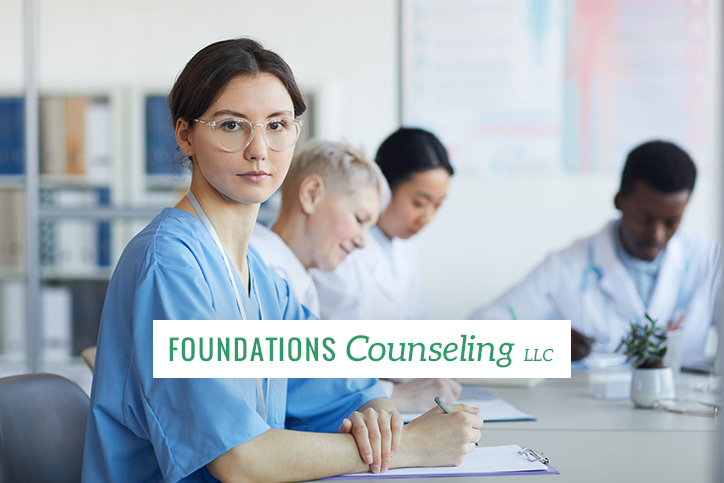 Group of doctors working