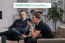 Teen in therapy